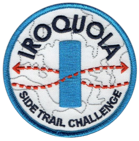 Iroquoia Side Trail Challenge Badge